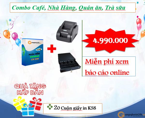 COMBO QUẢN LÝ ONLINE CAFE, NHÀ HÀNG, QUÁN ĂN