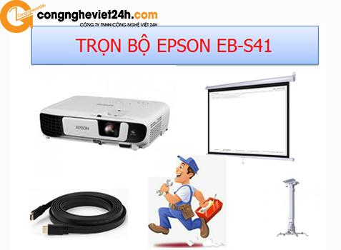 Trọn bộ Epson EB-S41