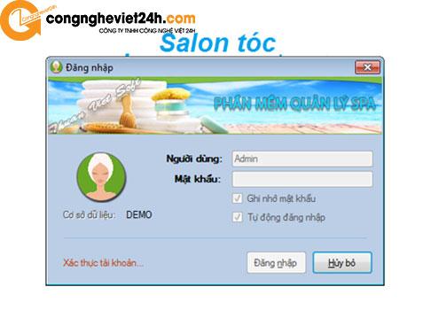 Phần mềm quản lý Tiệm tóc – Salon Beauty