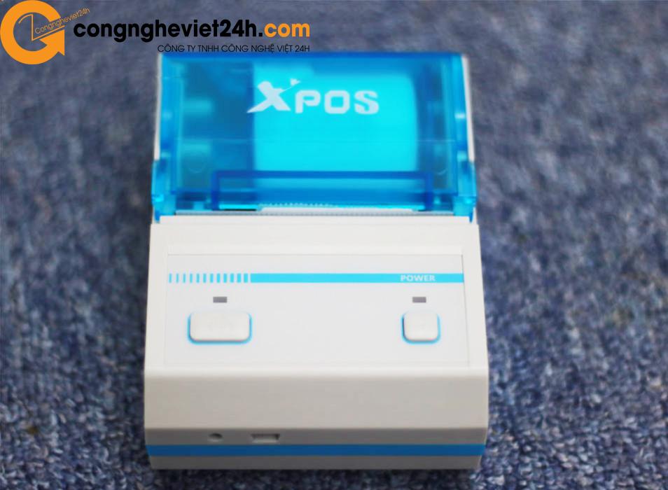 Máy in mã vạch - hóa đơn Bluetooth Xpos B58BL