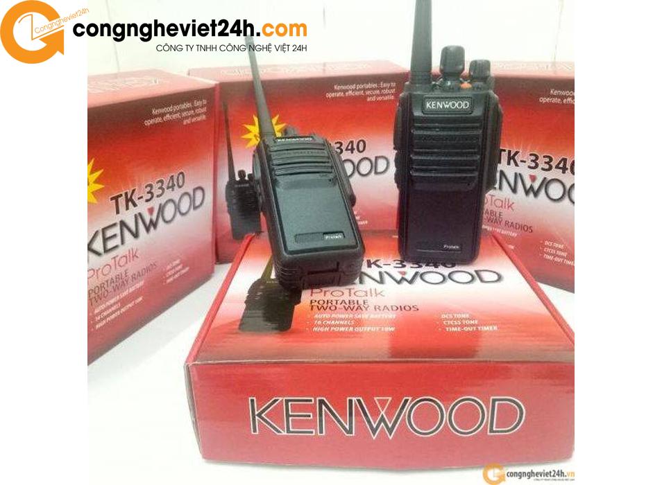 Bộ Đàm Kenwood TK 3340 (có còi báo động)